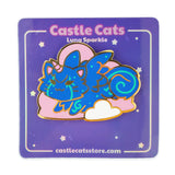 "Luna ""Sparkle"" Pin - Castle Cats"