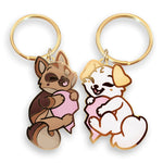 "Lyra & Fendo ""Friendship"" Keychains - Castle Cats Store"