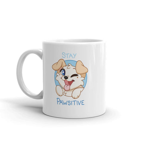 "Lyra ""Pawsitive"" Mug - Castle Cats Store"