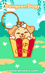 PupCorn Keychain - Castle Cats Store