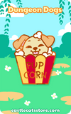 PupCorn Pin - Castle Cats Store