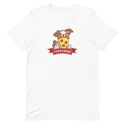 "Pupperoni ""Pizza"" - Unisex T-Shirt - Castle Cats Store"
