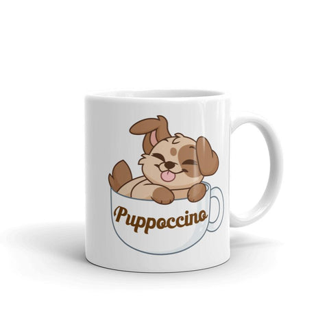 "Puppoccino ""Coffee"" Mug - Castle Cats Store"