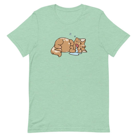 Sleeping Beans - Unisex T-Shirt - Castle Cats Store