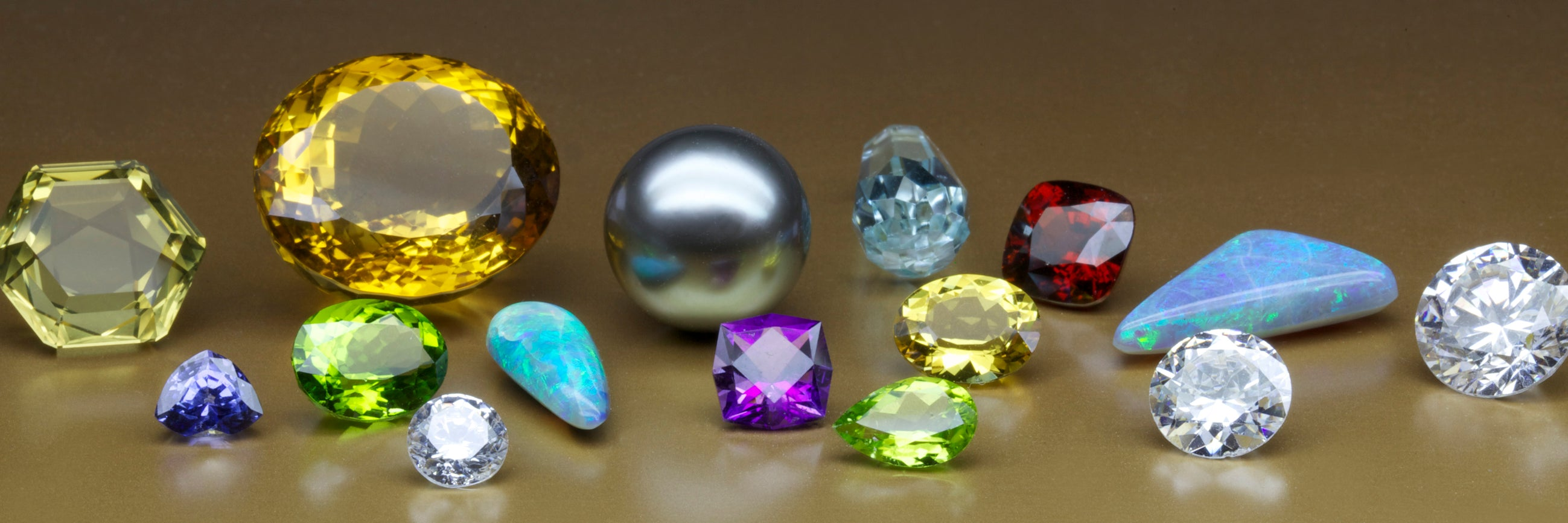 Gems and diamonds