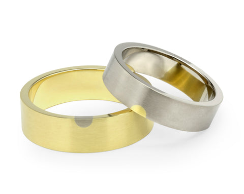 Arc Wedding Ring