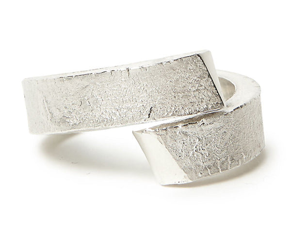 Crossover Ring - Silver