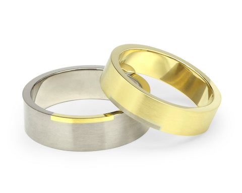 Rectangle Wedding Ring