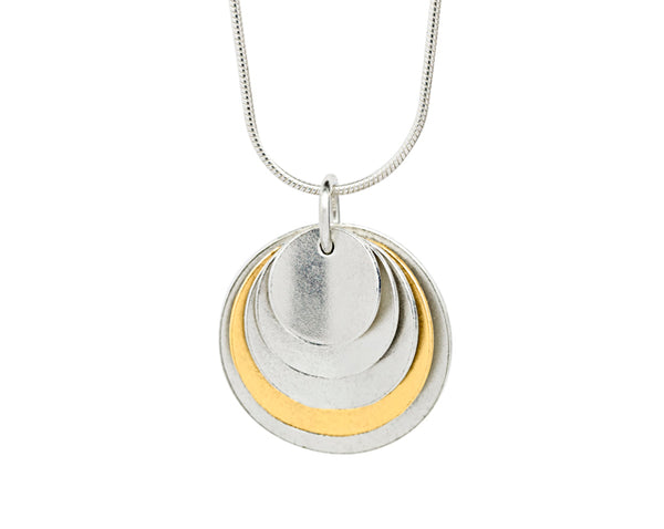 Pendant– 18ct Gold: Yellow & white