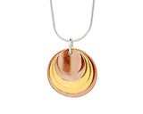 Pendant–18ct Gold: Rose & Yellow