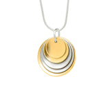 Pendant–18ct Gold: Yellow & White