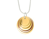 Pendant–18ct Gold: Yellow & Rose