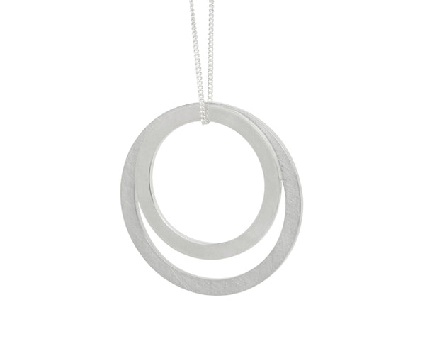 Pendant-18ct gold: White