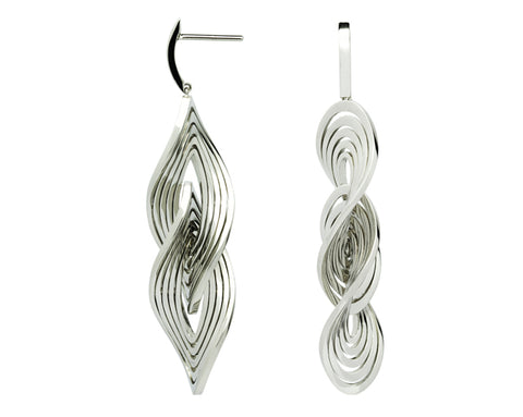 Earrings – White Gold