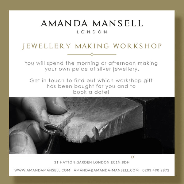 Silver Jewellery workshop
