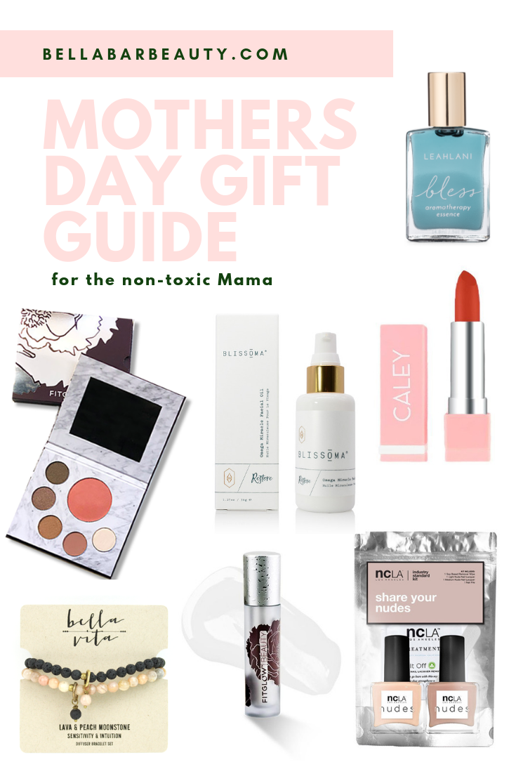 BellaBar Mothers Day Clean Beauty Non-toxic Gift Guide