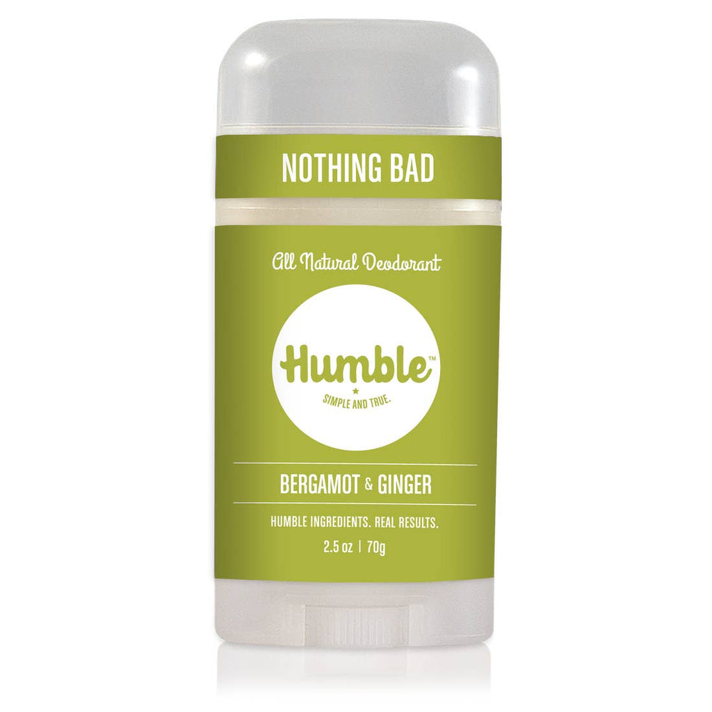 Nothing Bad Deodorant - Bergamot And Ginger