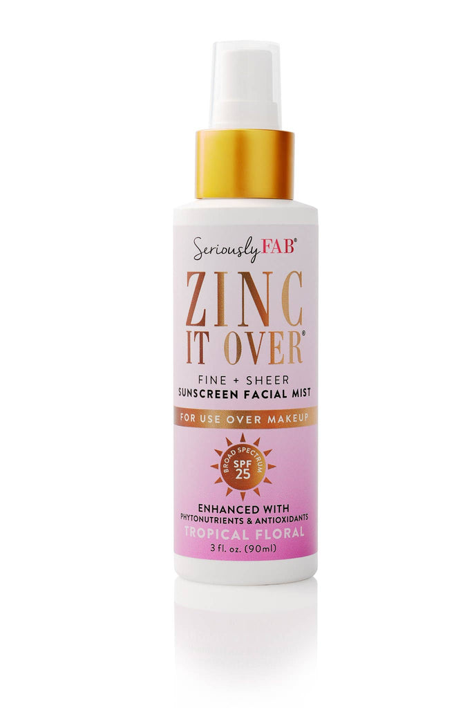 Zinc it Over - Sunscreen & Makeup Setting Mist (Tropical)