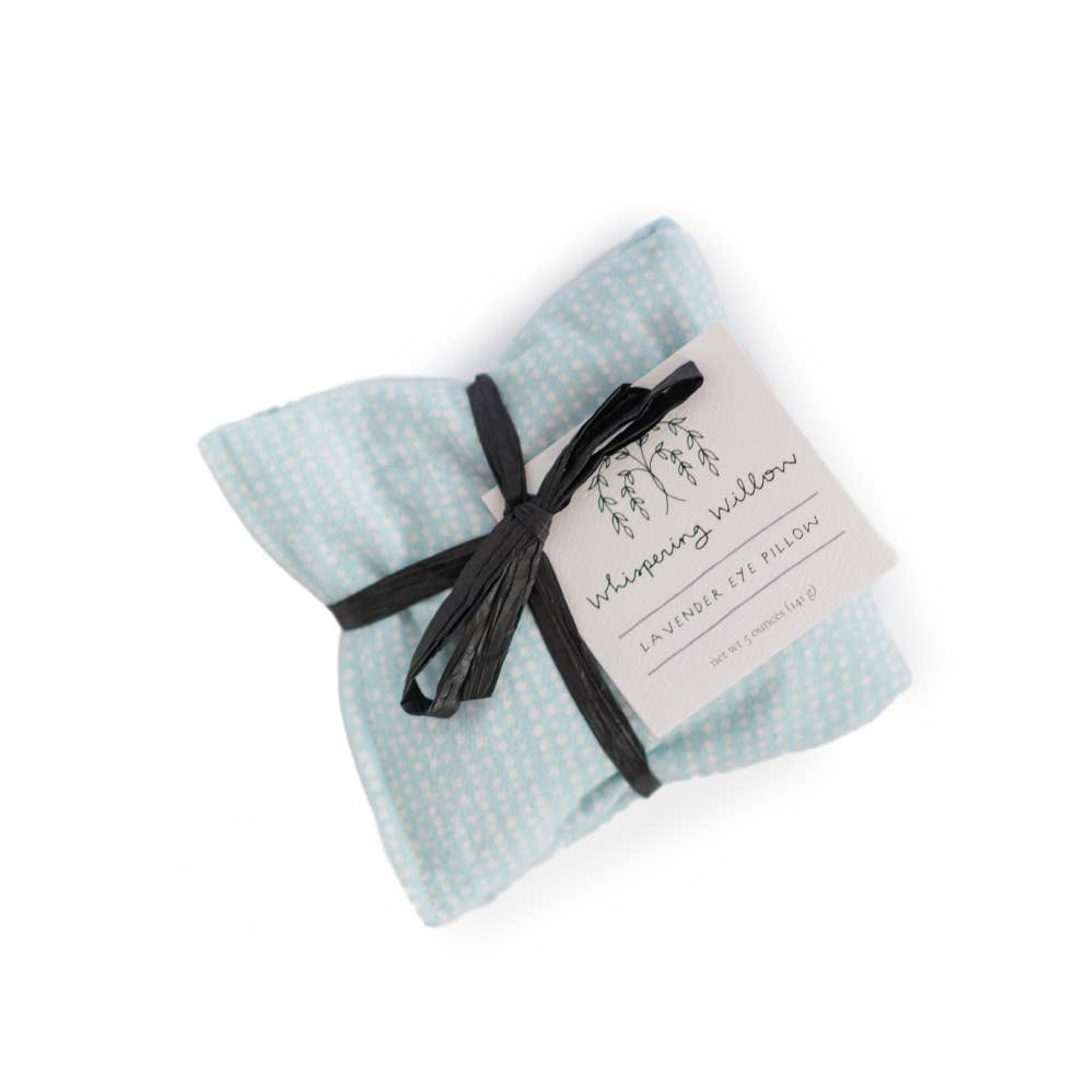Eye Pillow, Lavender - Powder Blue