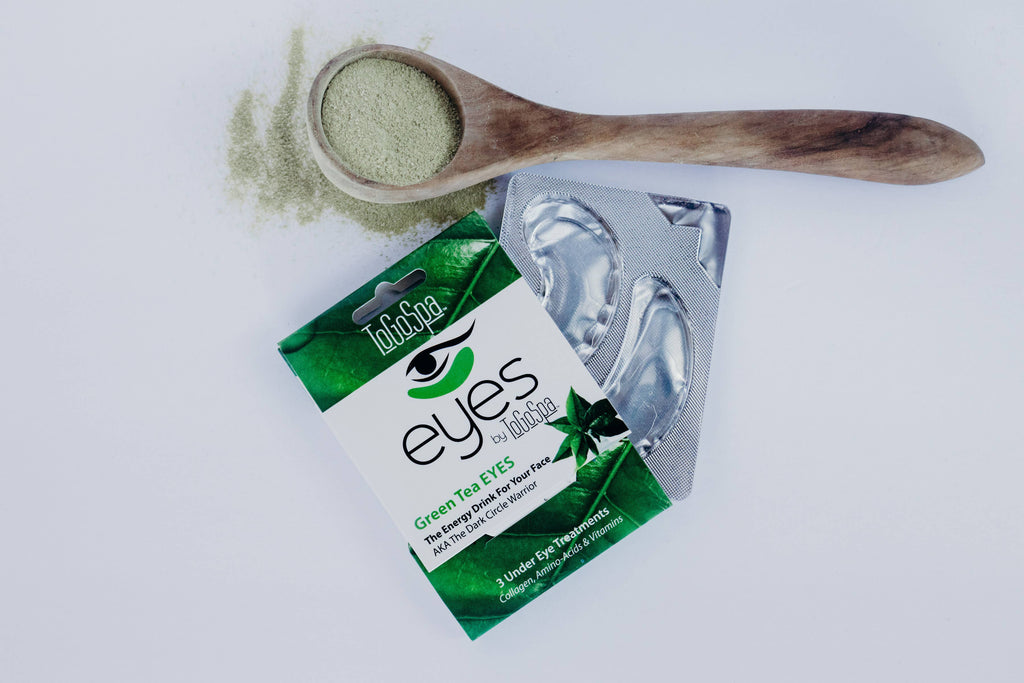 Green Tea Eye Masks