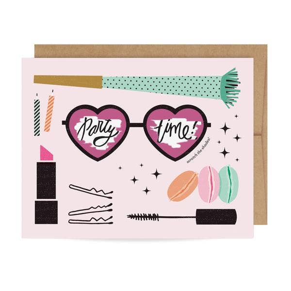 Inklings Paperie - Party Time Scratch-off Card