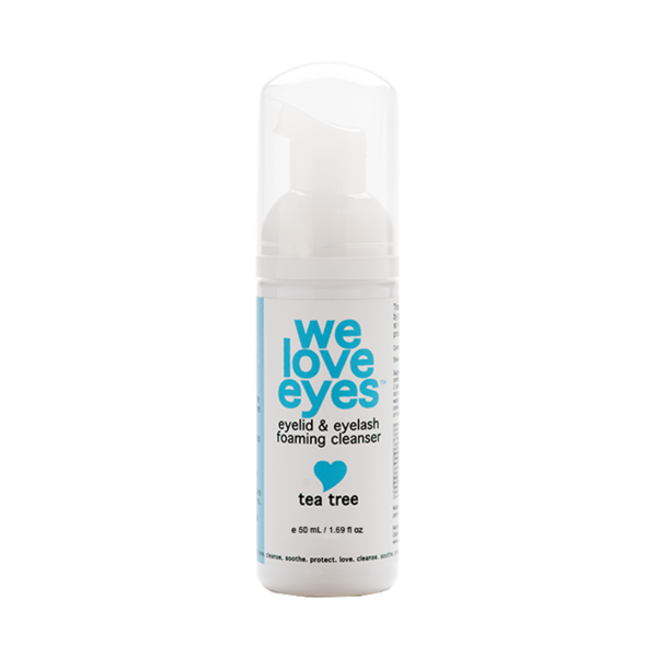 Tea Tree Eye Makeup Foaming Cleanser