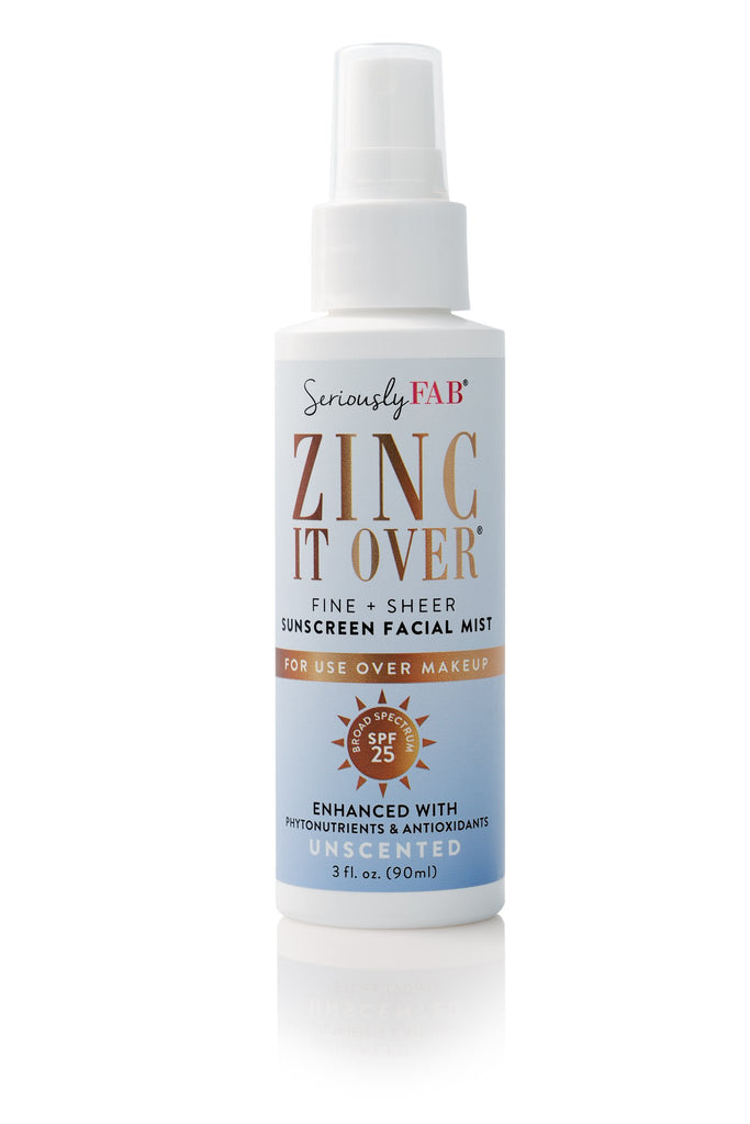 Zinc it Over - Sunscreen & Makeup Setting Mist (unscented)