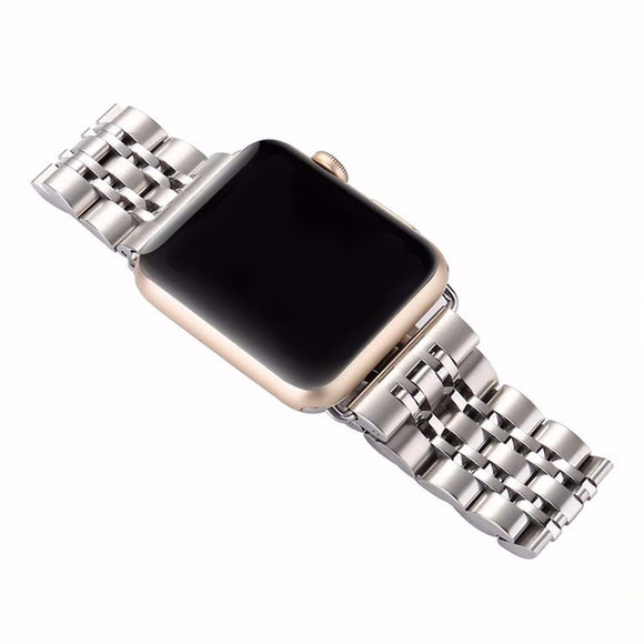 Crestedin Apple Watch -teräshihna (42/38 mm)
