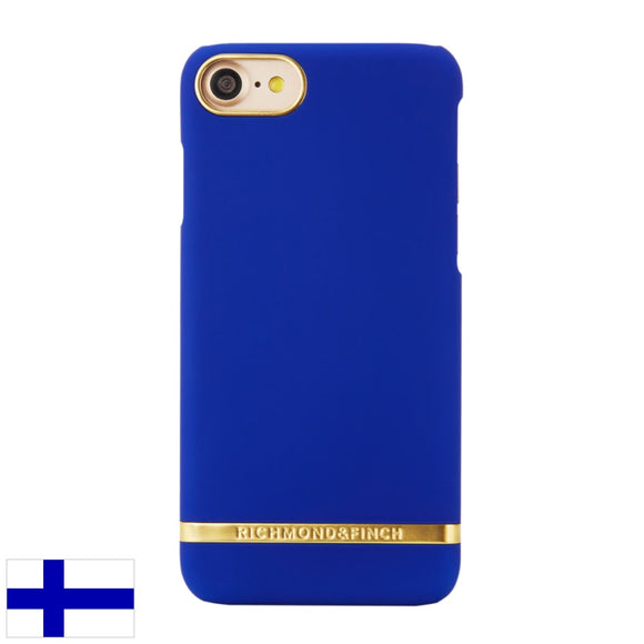 Richmond & Finch Cobalt Satin -Suojakuori Iphone 7:lle Ja 8:lle