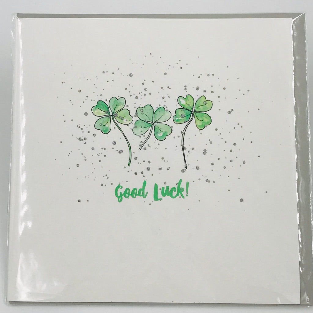 4 leaf clover - Card