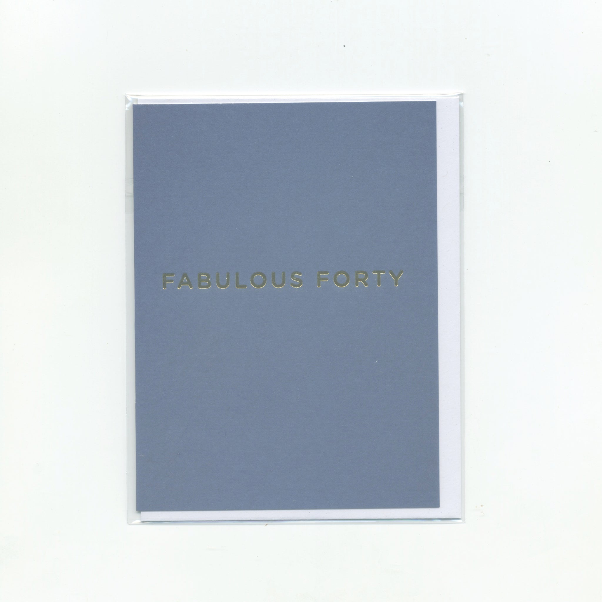 Fabulous Forty - Mini Card