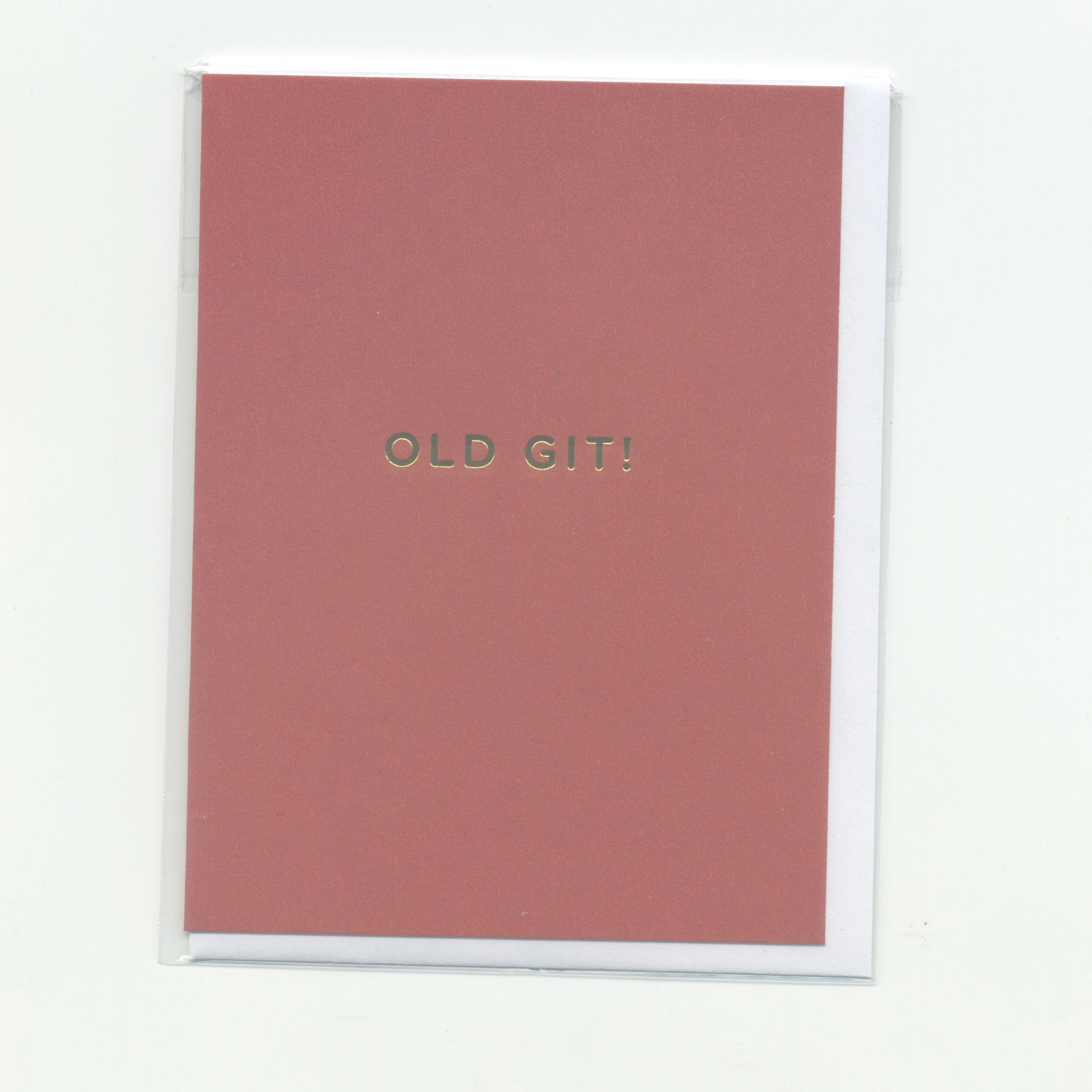 Old Git! - Mini Card