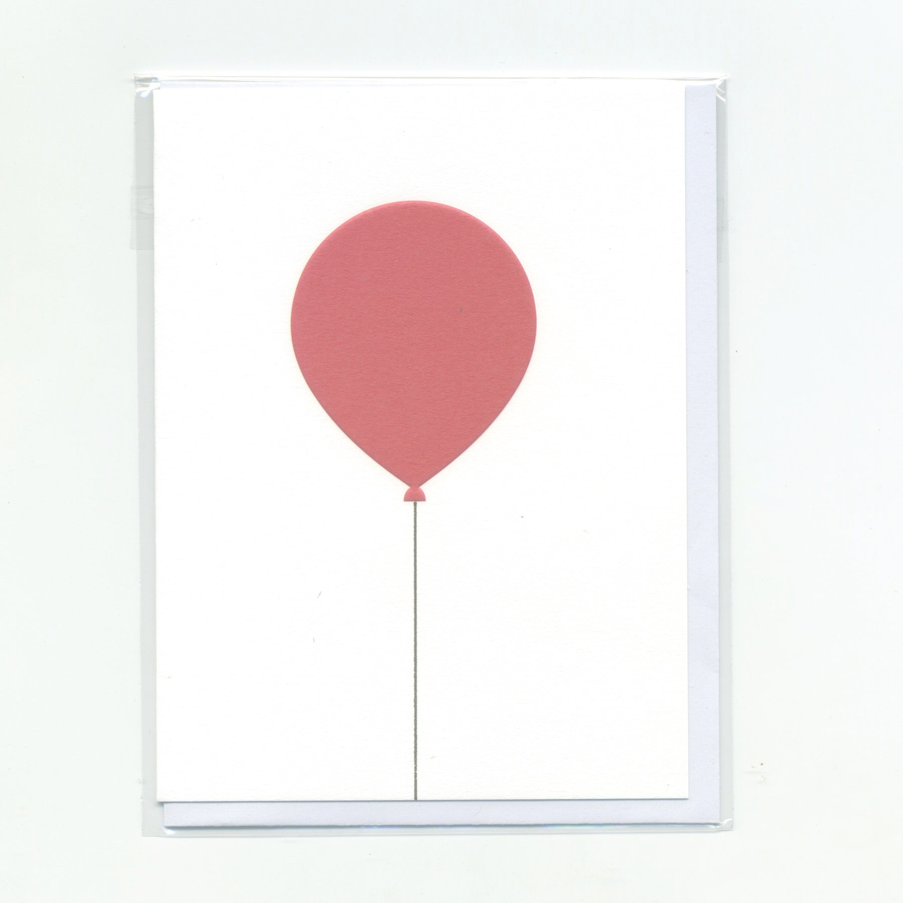 Red Balloon - Mini Card
