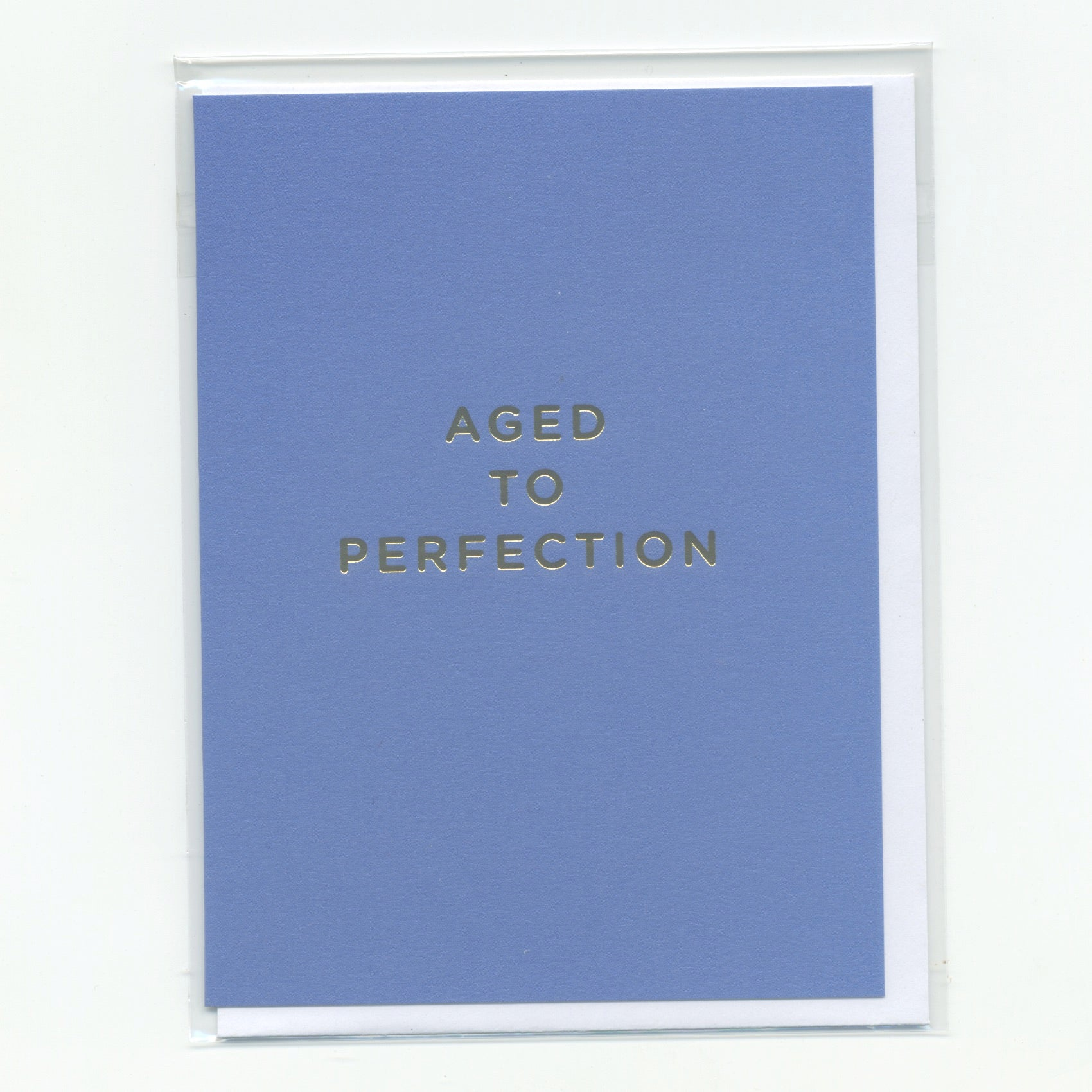 Aged to Perfection - Mini Card