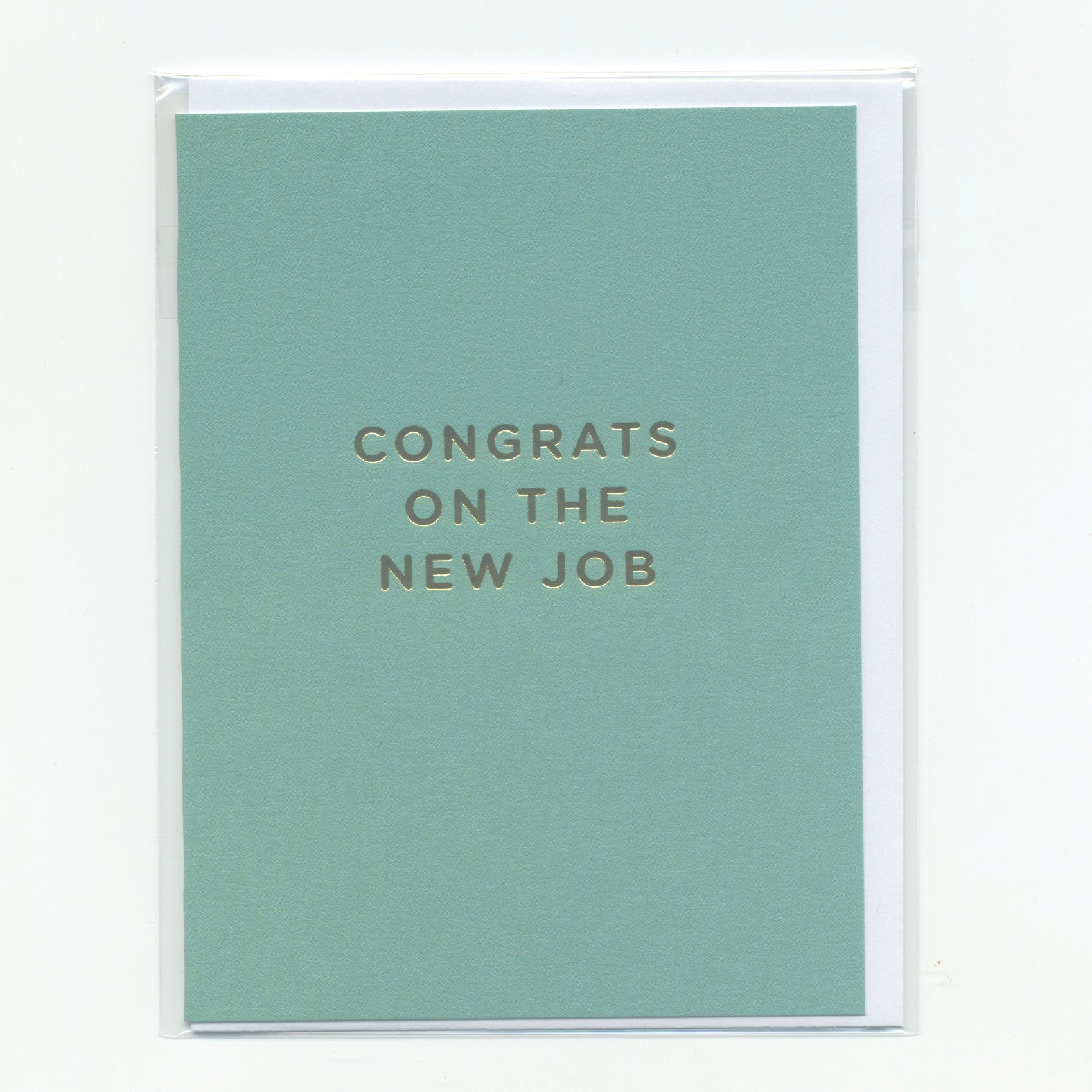 Congrats on the New Job - Mini Card