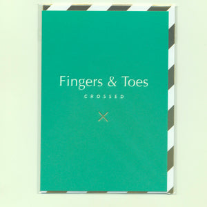 Fingers & Toes Crossed - Card
