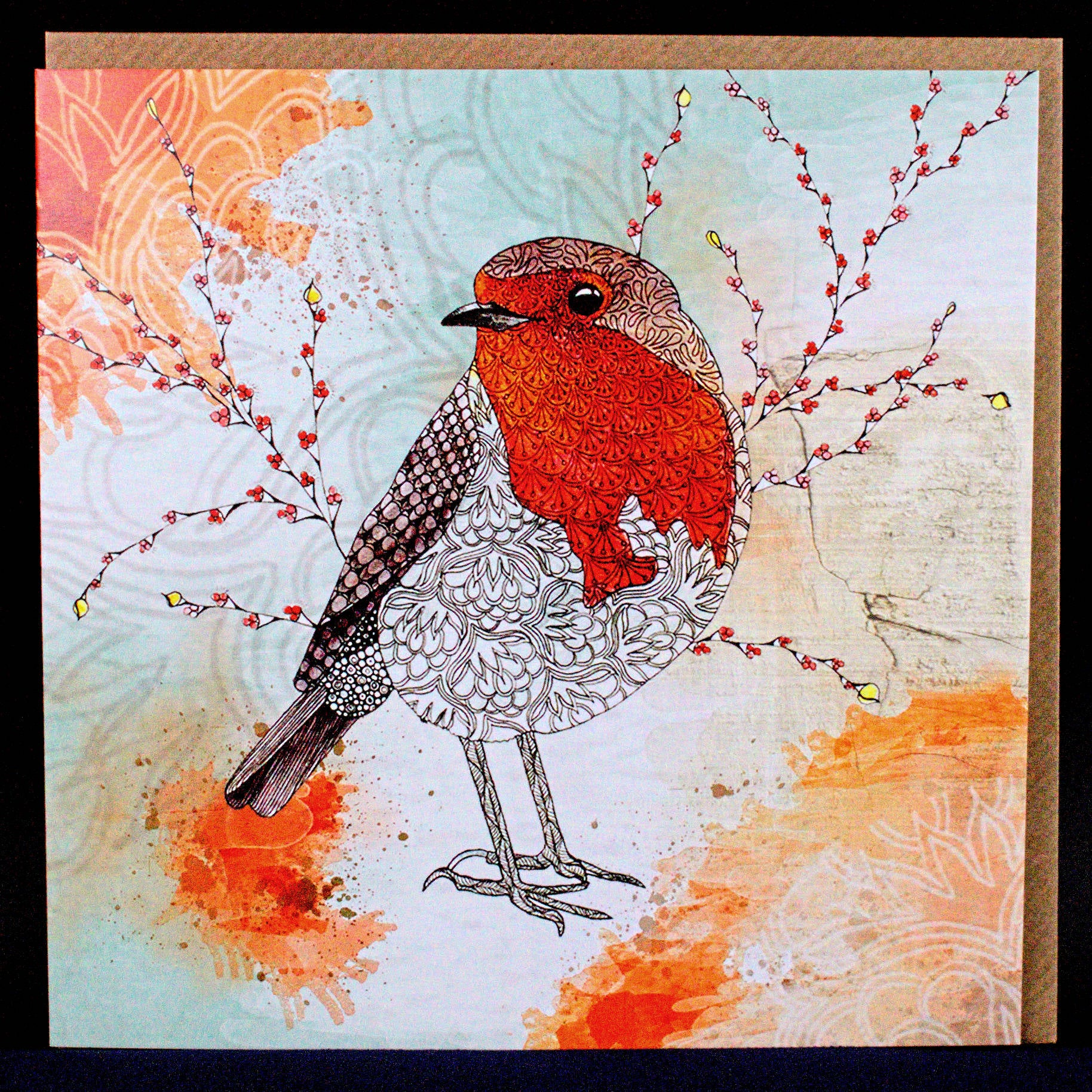 Robin by Carla J - Card
