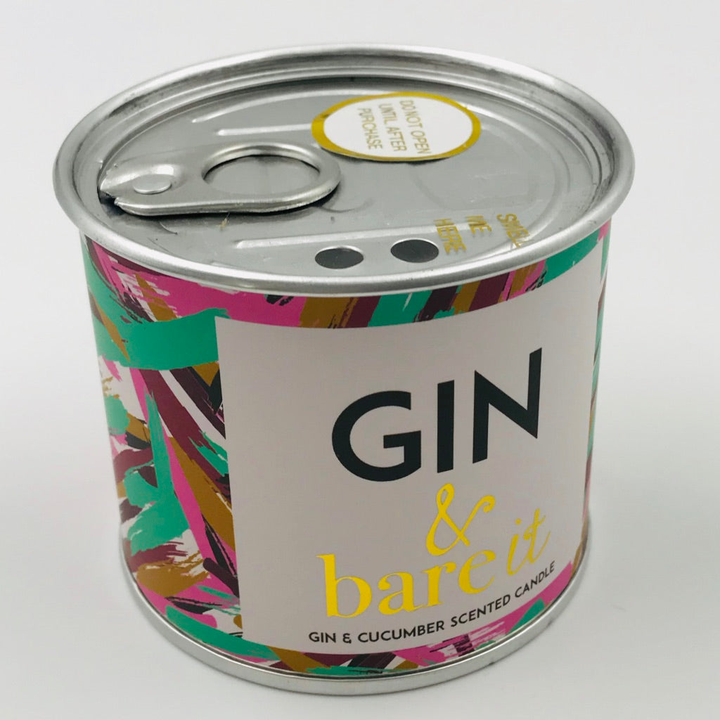 Gin & bare it Candle