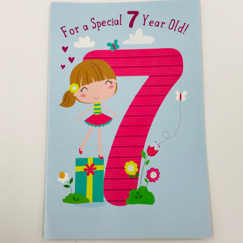 For a special 7 year old! - Card