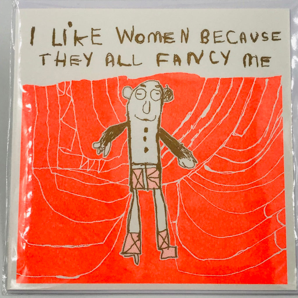 Women All Fancy Me - Card