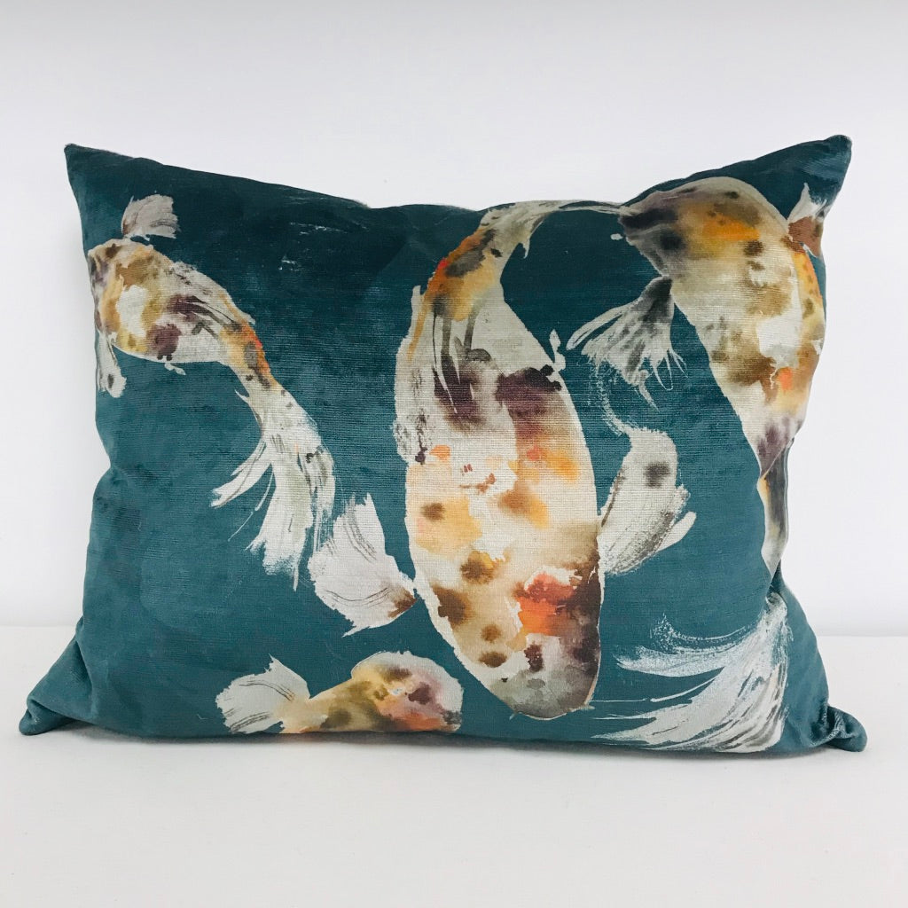 Koi Carp Cushion