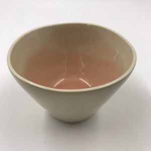 Blush pink nibbles bowl
