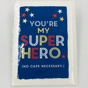 No Cape Necessary - Card