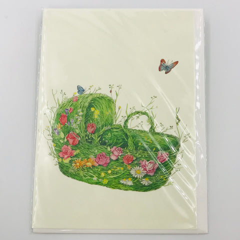 Moses Basket - Card