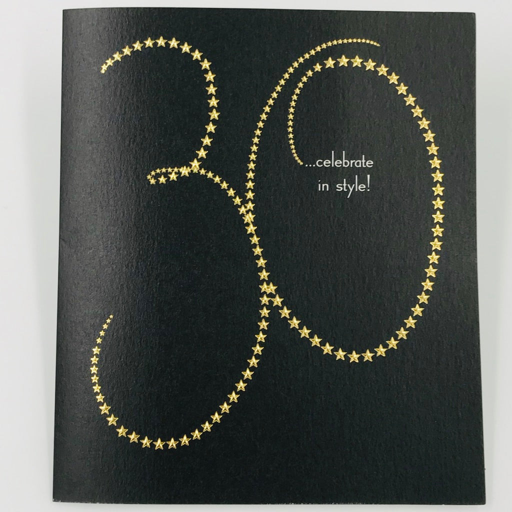 30 Celebrate in Style - Card
