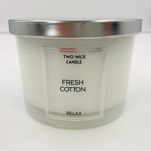 Relax 2 wick Candle