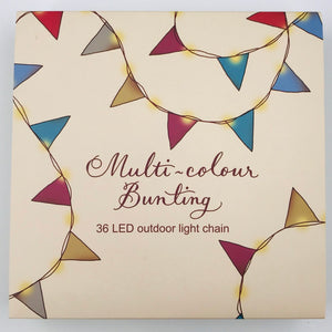 Multi-colour led Bunting