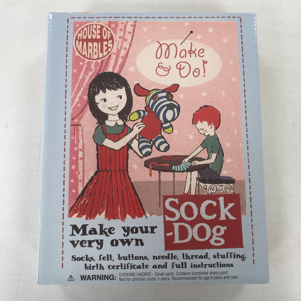 Make your very own Sock Dog