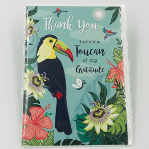Toucan of My Gratitude - Card