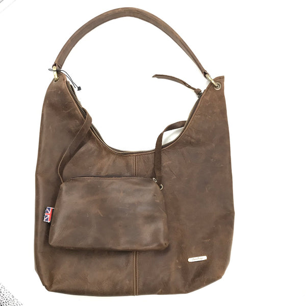Owen Barry Howlett Leather Bag in Black or Brown